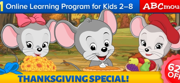 ABCmouse Black Friday 2019 Sale: Get 1 Year of ABCmouse for $45 – 60% Off!