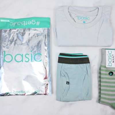 Basic MAN Subscription Box October 2019 Review + 50% Off Coupon