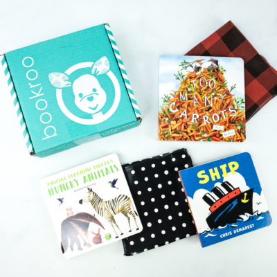 Bookroo November 2019 Subscription Box Review + Coupon – BOARD BOOKS