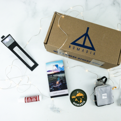 Nomadik October 2019 Subscription Box Review + Coupon