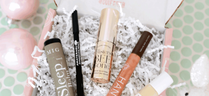 Oui Fresh Beauty Box November 2019 Full Spoilers!