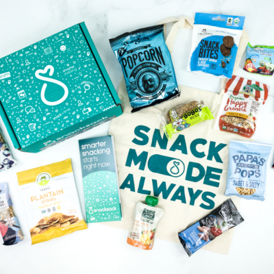 SnackSack October 2019 Subscription Box Review & Coupon – Classic