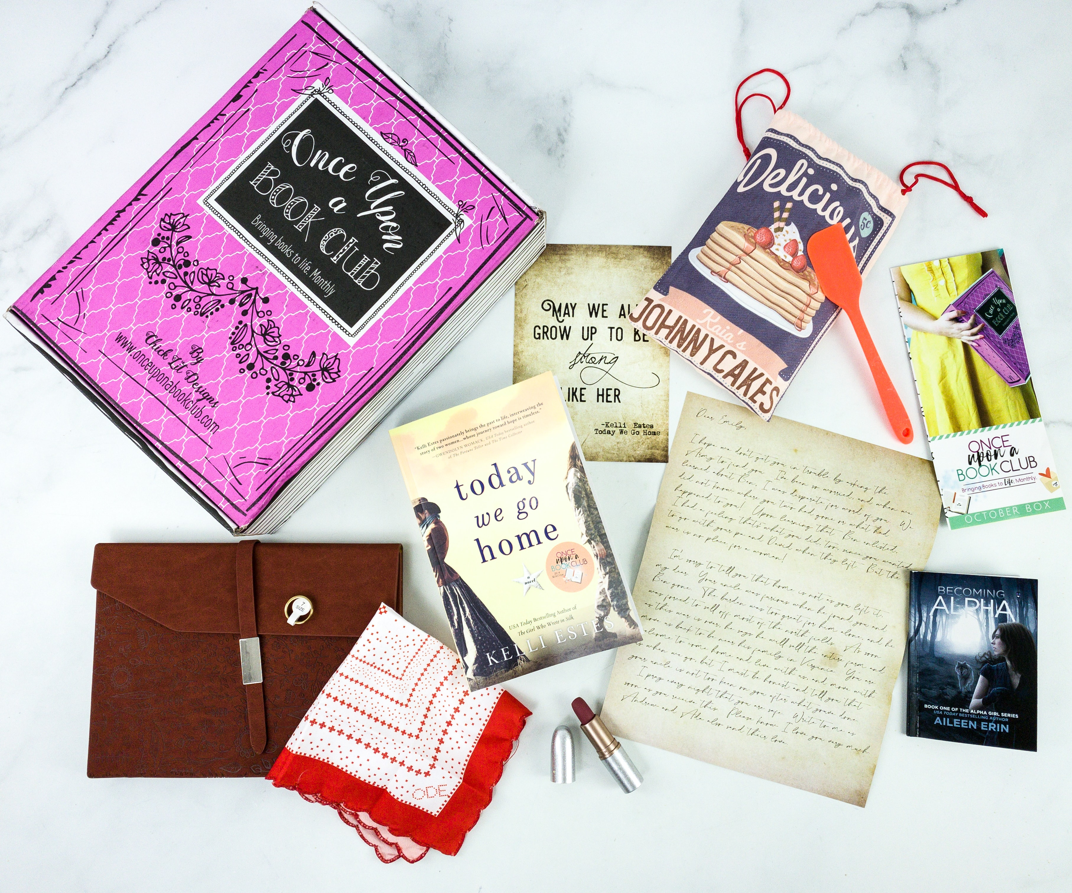 Once Upon a Book Club October 2019 Subscription Box Review + Coupon – Adult Box