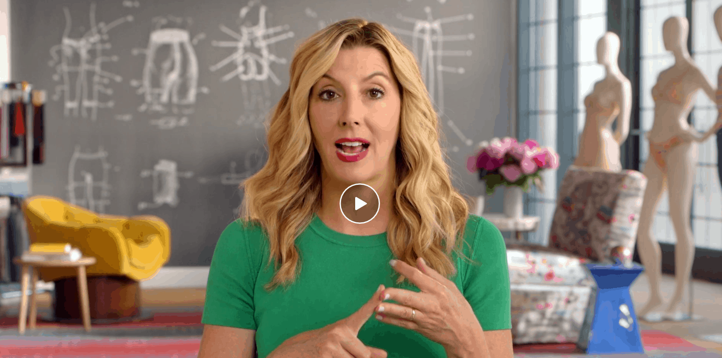 MasterClass Sara Blakely Class Available Now!