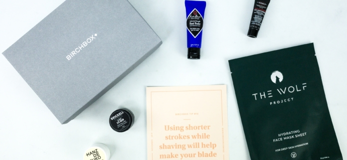 Birchbox Grooming November 2019 Subscription Box Review & Coupon