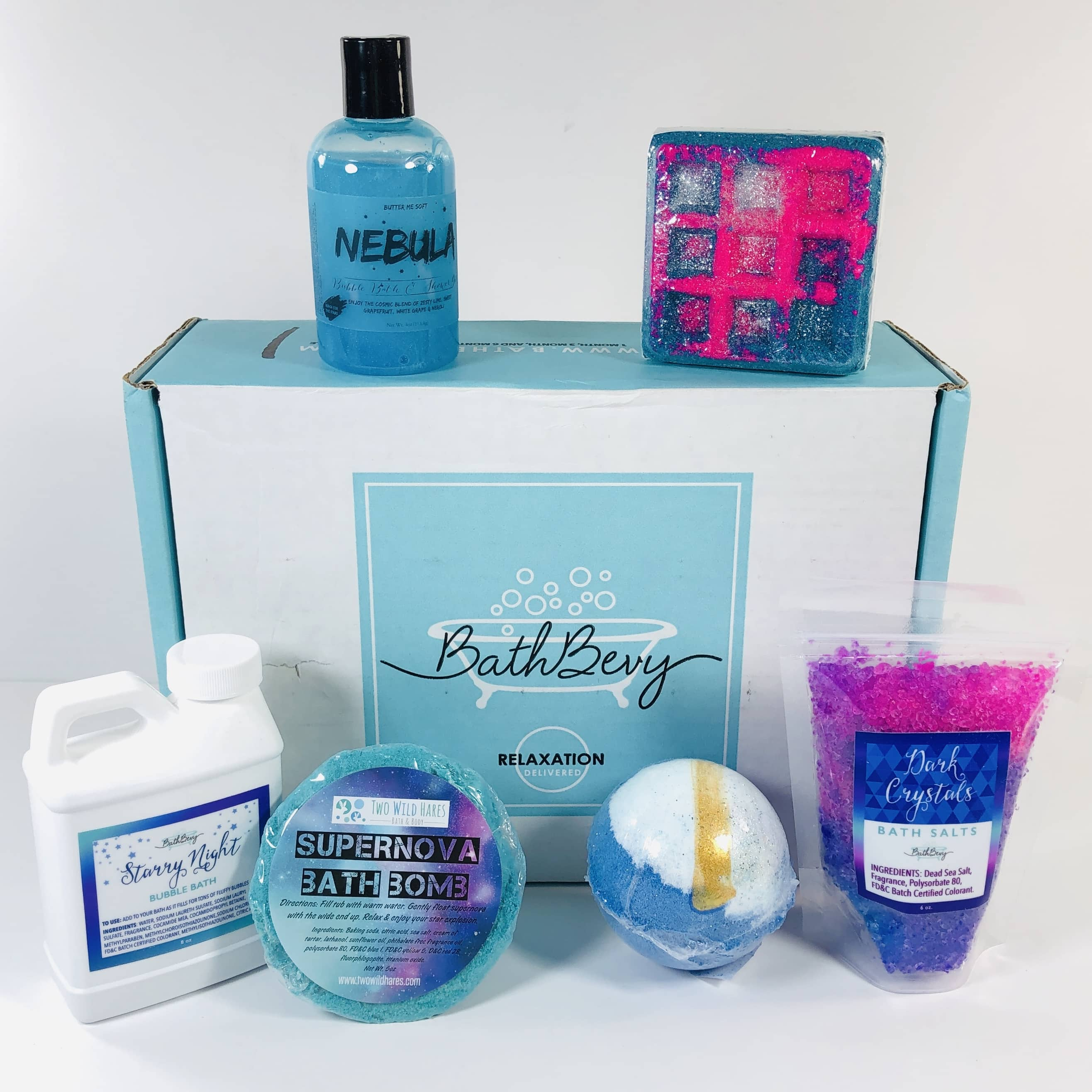 Bath Bevy November 2019 Subscription Box Review + Coupon