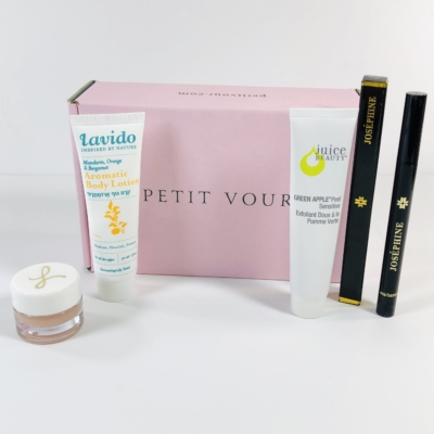 Petit Vour November 2019 Subscription Box Review & Coupon