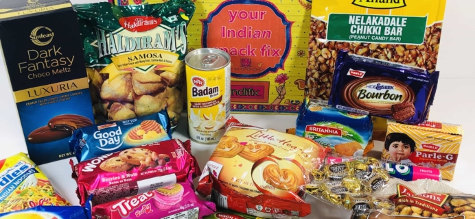 IndiFix: Your Indian Snack Fix November 2019 Subscription Box Review