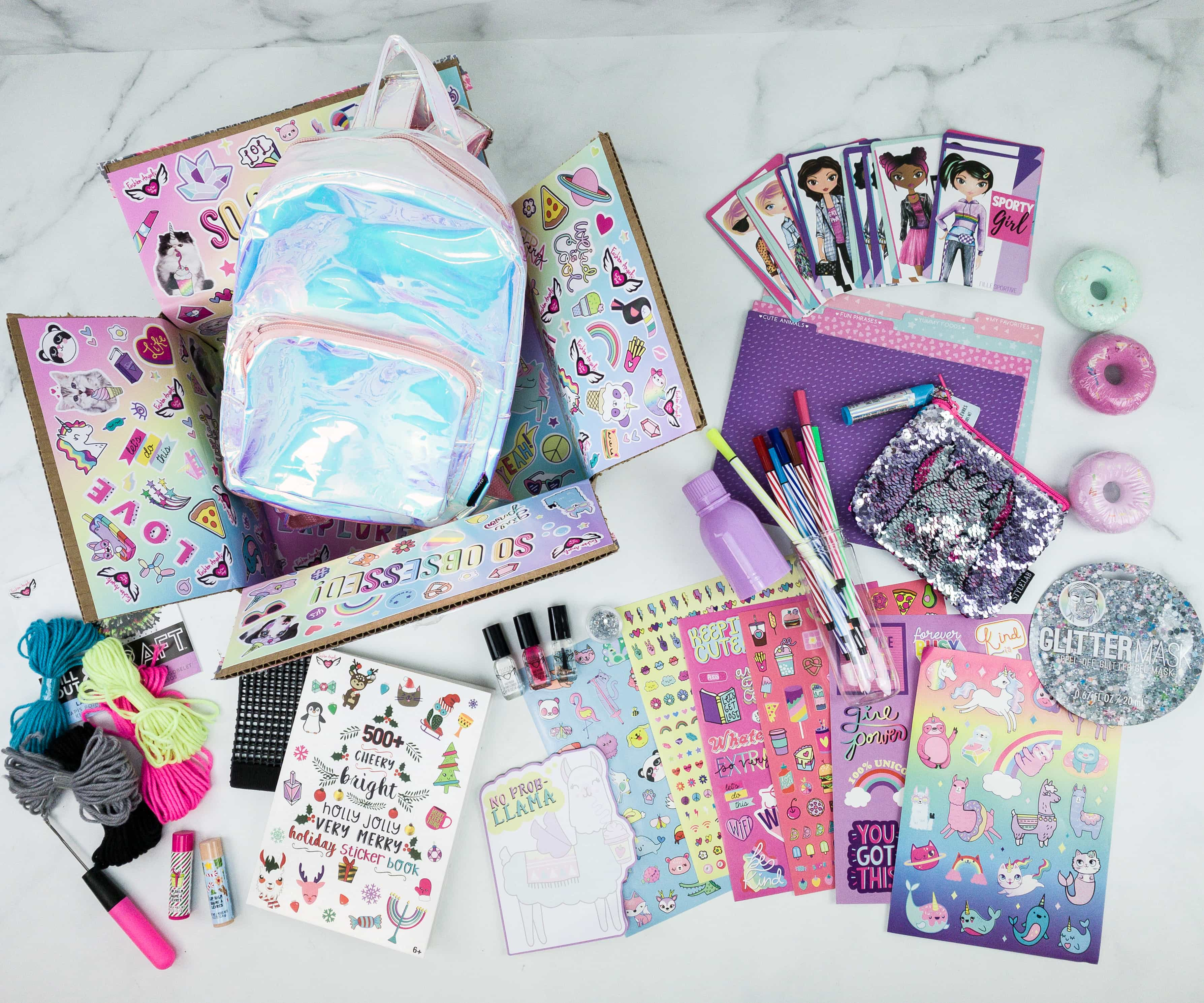 December 2019 Fashion Angels Find Your Wings Subscription Box Review + Coupon