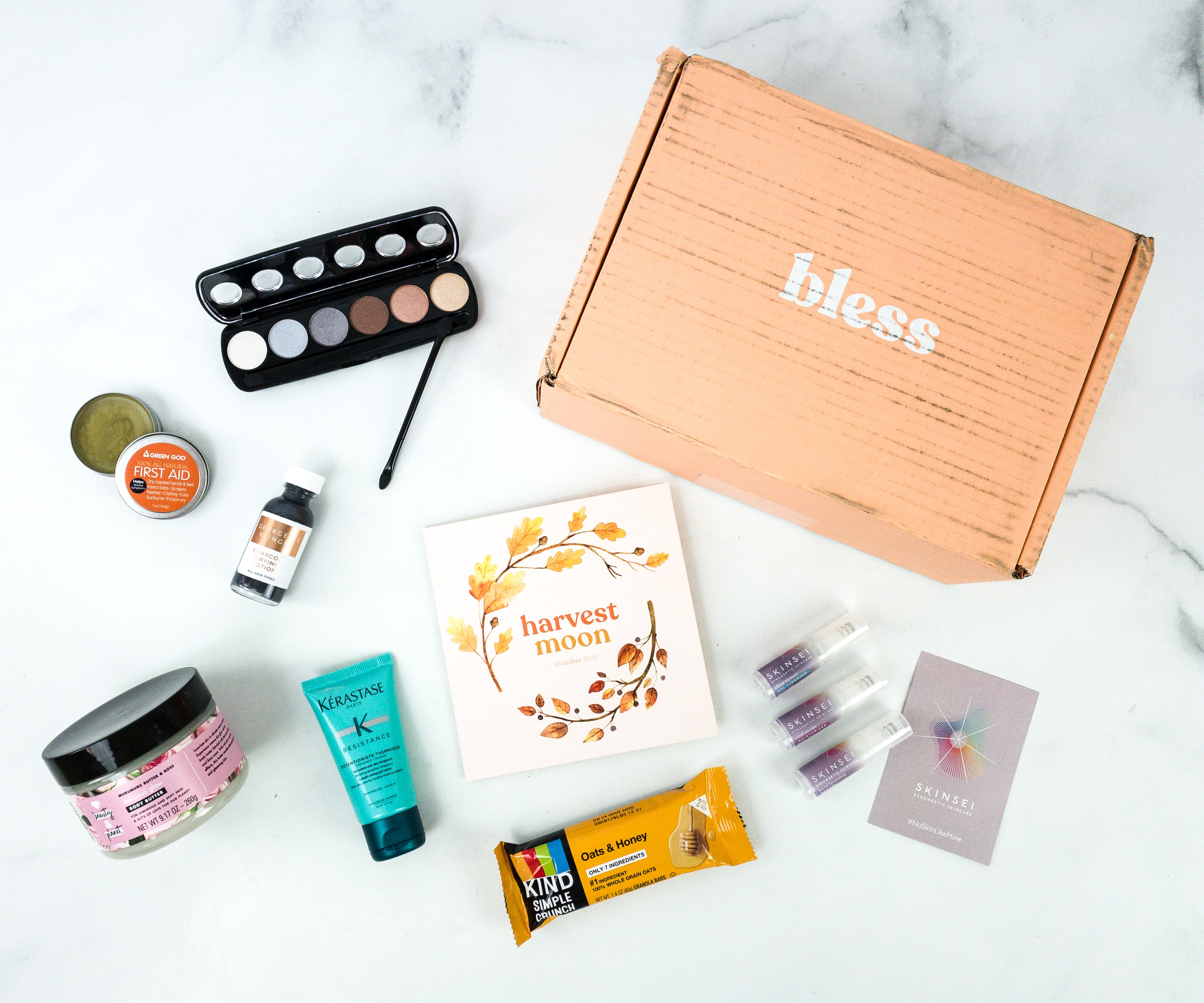 Bless Box October 2019 Subscription Box Review & Coupon