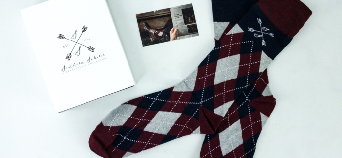 Southern Scholar November 2019 Men's Sock Subscription Box Review & Coupon