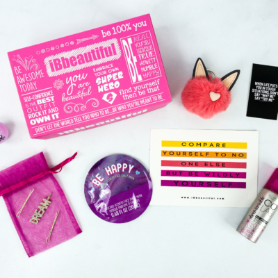 iBbeautiful November 2019 Tween Subscription Box Review