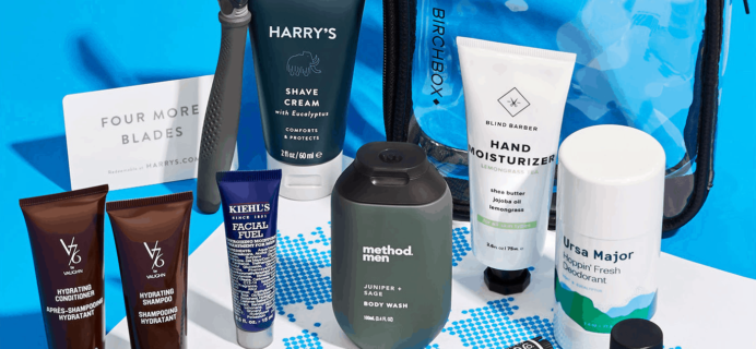 New Birchbox Man Limited Edition Box: The Points Guy x Birchbox Bag Available Now + Coupons!