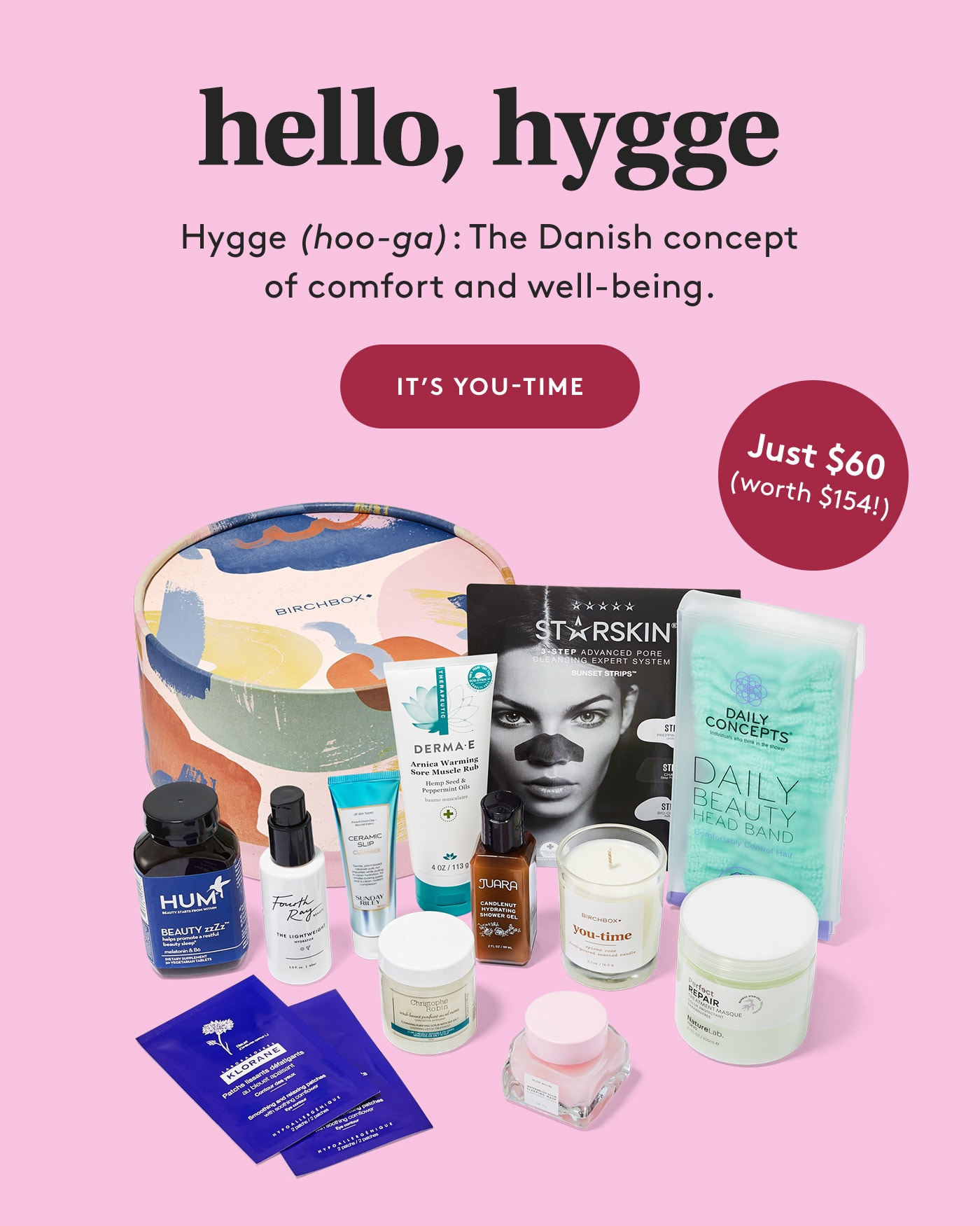 Birchbox Limited Edition Hello Hygge Box Available Now + Coupon!