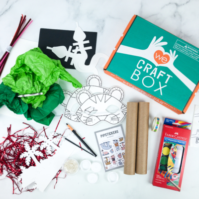 We Craft Box November 2019 Subscription Box Review + Coupons!
