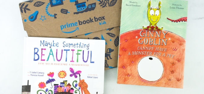 Amazon Prime Book Box Kids November 2019 AGE 3-5 Review + BLACK FRIDAY Coupon!