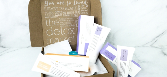 The Detox Box November 2019 Subscription Box Review