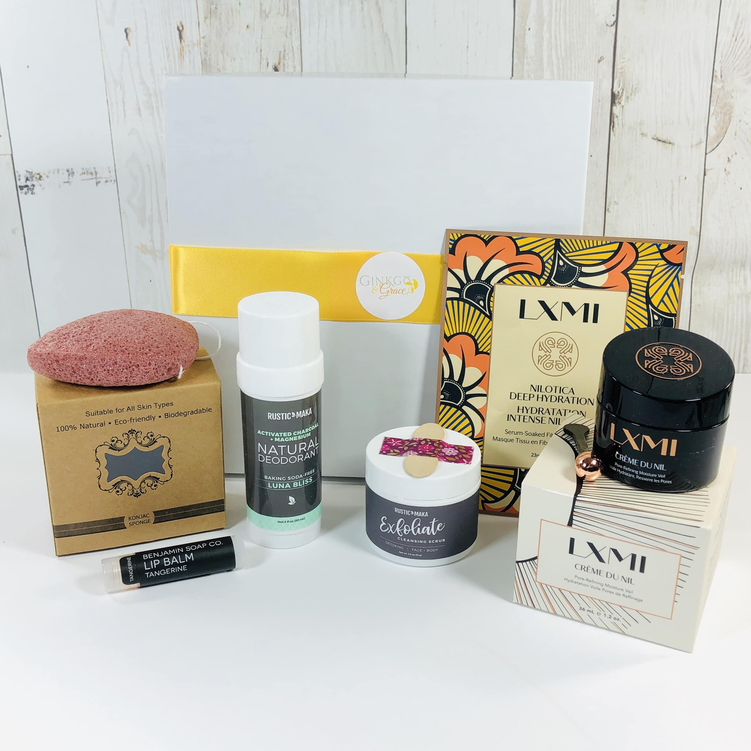 Ginkgo & Grace November 2019 Subscription Box Review
