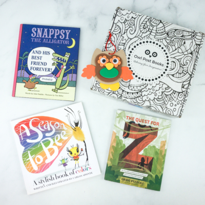 Owl Post Books Black Friday Deal: Take 25% off any subscription!