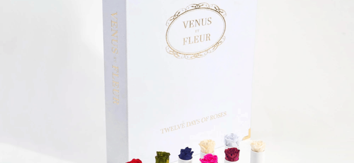 Venus et Fleur 12 Days of Roses Advent Calendar Available Now!