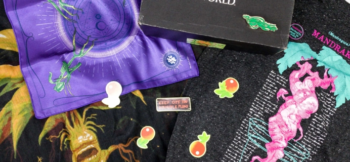 JK Rowling's Wizarding World Crate July 2019 Review + Coupon