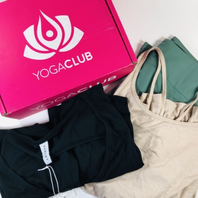 YogaClub Subscription Box Review + Coupon – November 2019 Plus Size