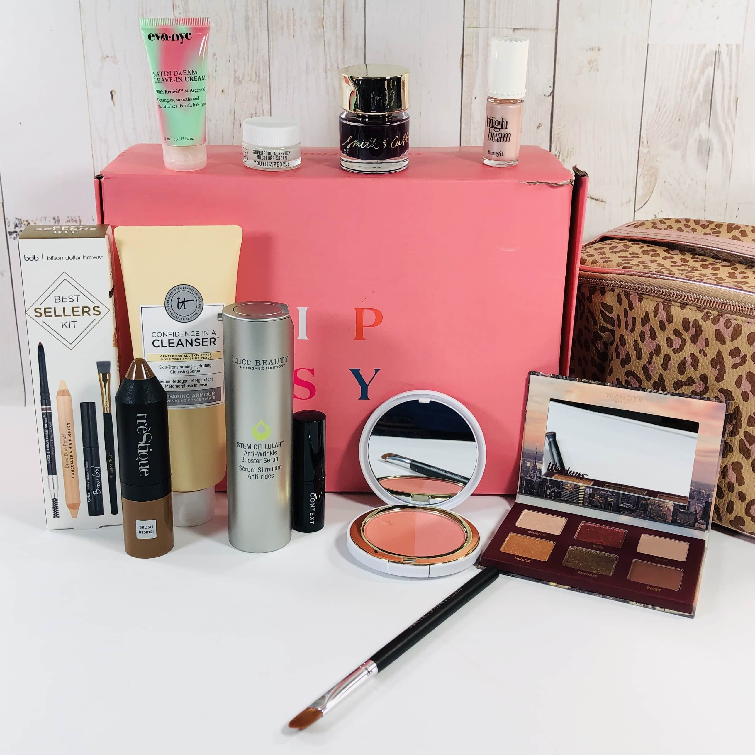 Ipsy Glam Bag Ultimate November 2019 Subscription Box Review