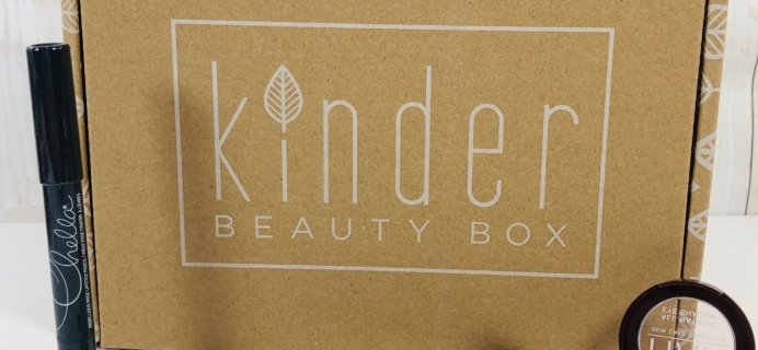 Kinder Beauty Box November 2019 Review + Coupon!