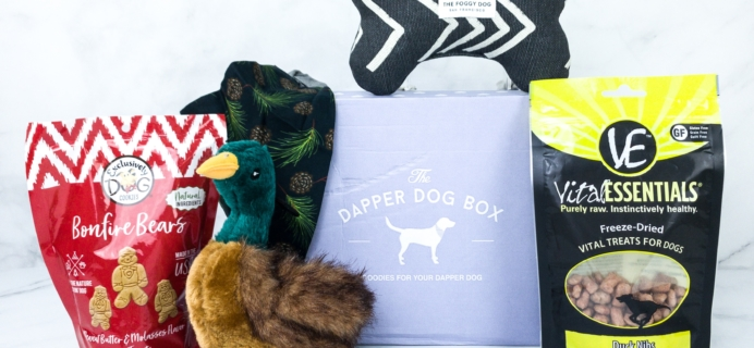 The Dapper Dog Box Black Friday Deal: Save 25% on Dog Treat, Toy, and Bandana Subscription!