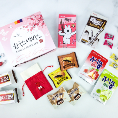 Korean Snack Box November 2019 Subscription Box Review + Coupon