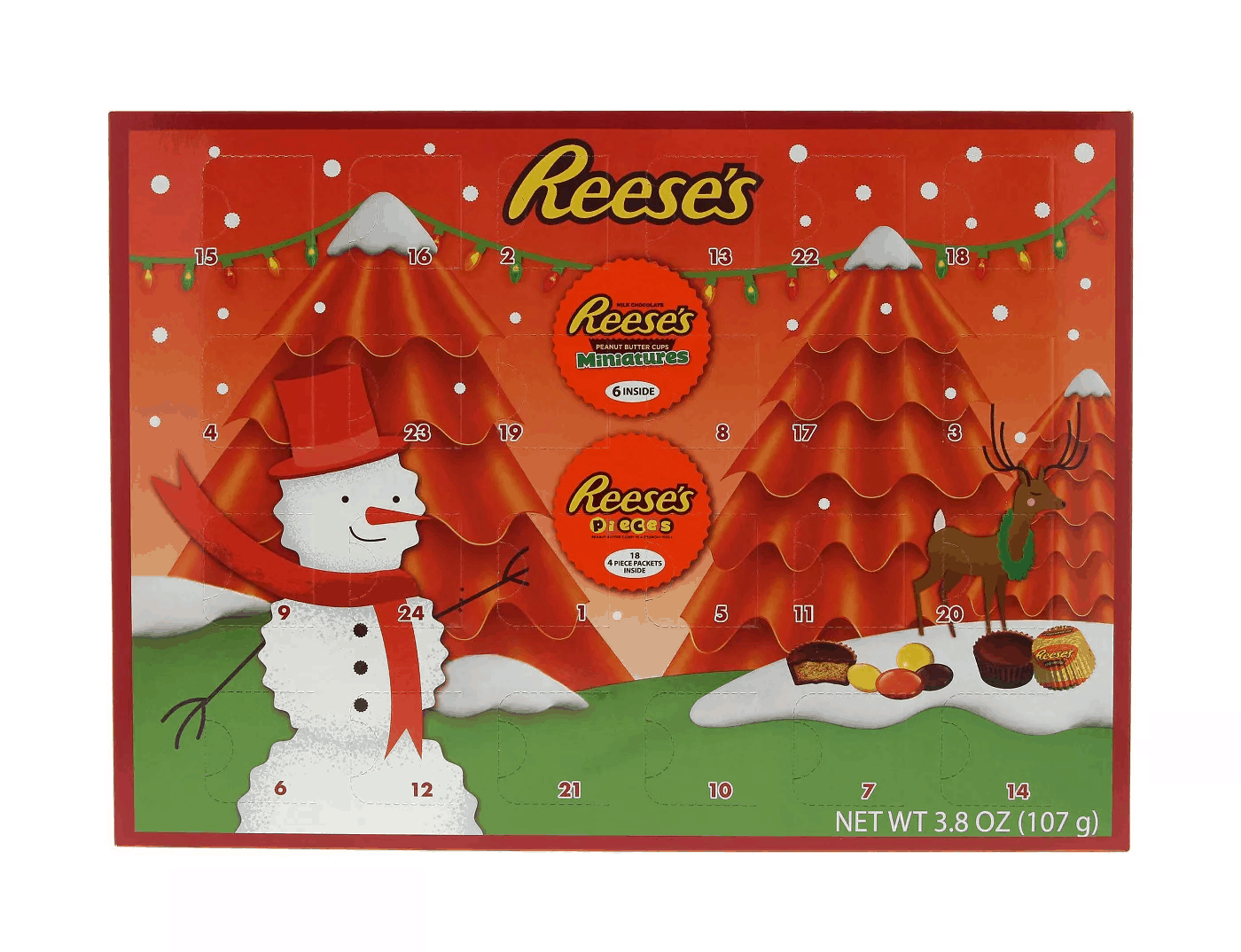 2019 Reese's Advent Calendar Available Now!