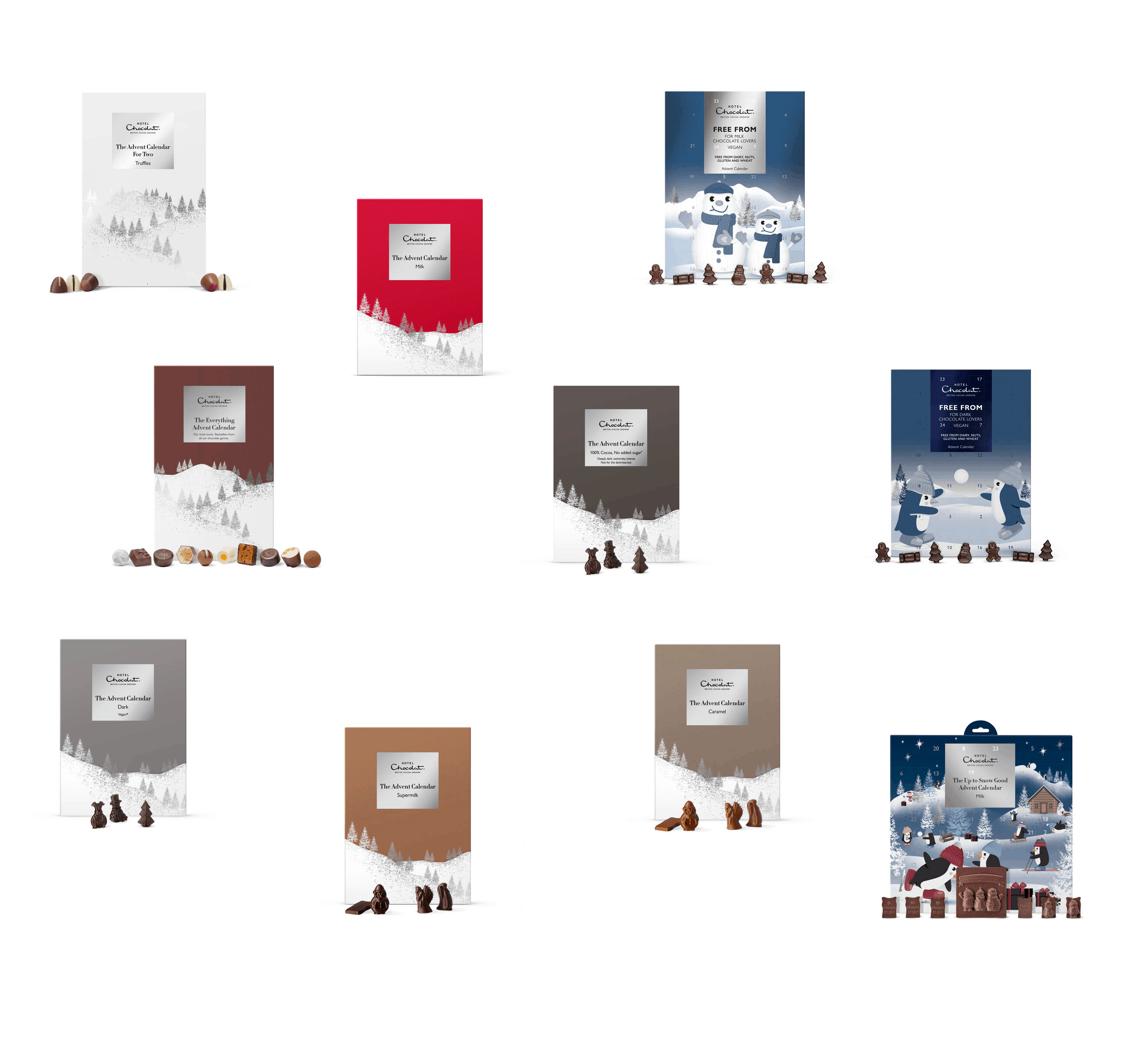 2019 Hotel Chocolat Advent Calendars Available Now!