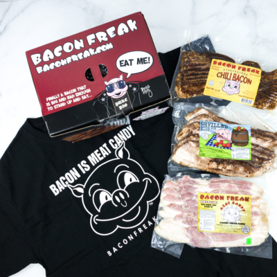 Bacon Freak November 2019 Subscription Box Review
