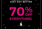 Fabletics Black Friday Coupon: 70% Off First Purchase!