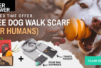 Super Chewer Early Black Friday Sale: FREE Dog Walk Scarf!