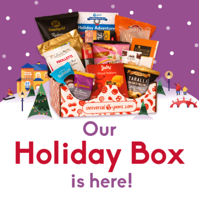 Universal Yums December 2019 Holiday Box Spoilers + Coupon!