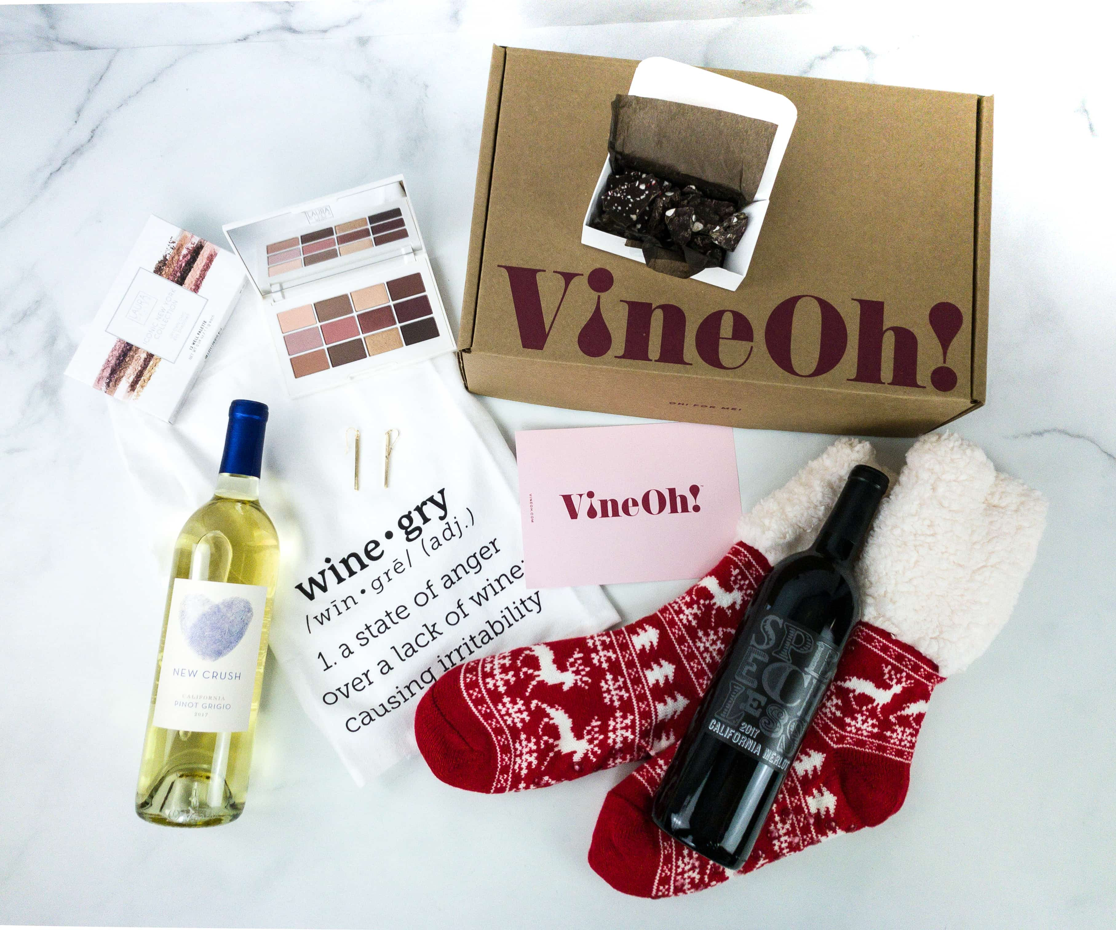 Vine Oh! Winter 2019 Subscription Box Review + Coupon – OH! HO HO! BOX
