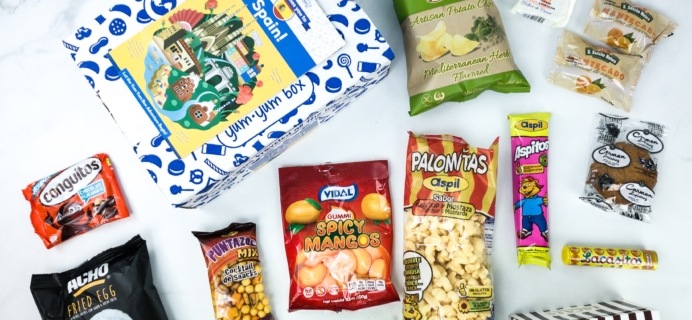 Universal Yums Subscription Box Review + Coupon – SPAIN