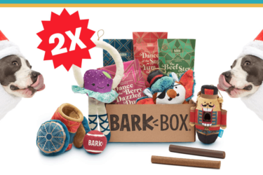BarkBox Holiday Sale: Double Your First Box for FREE!