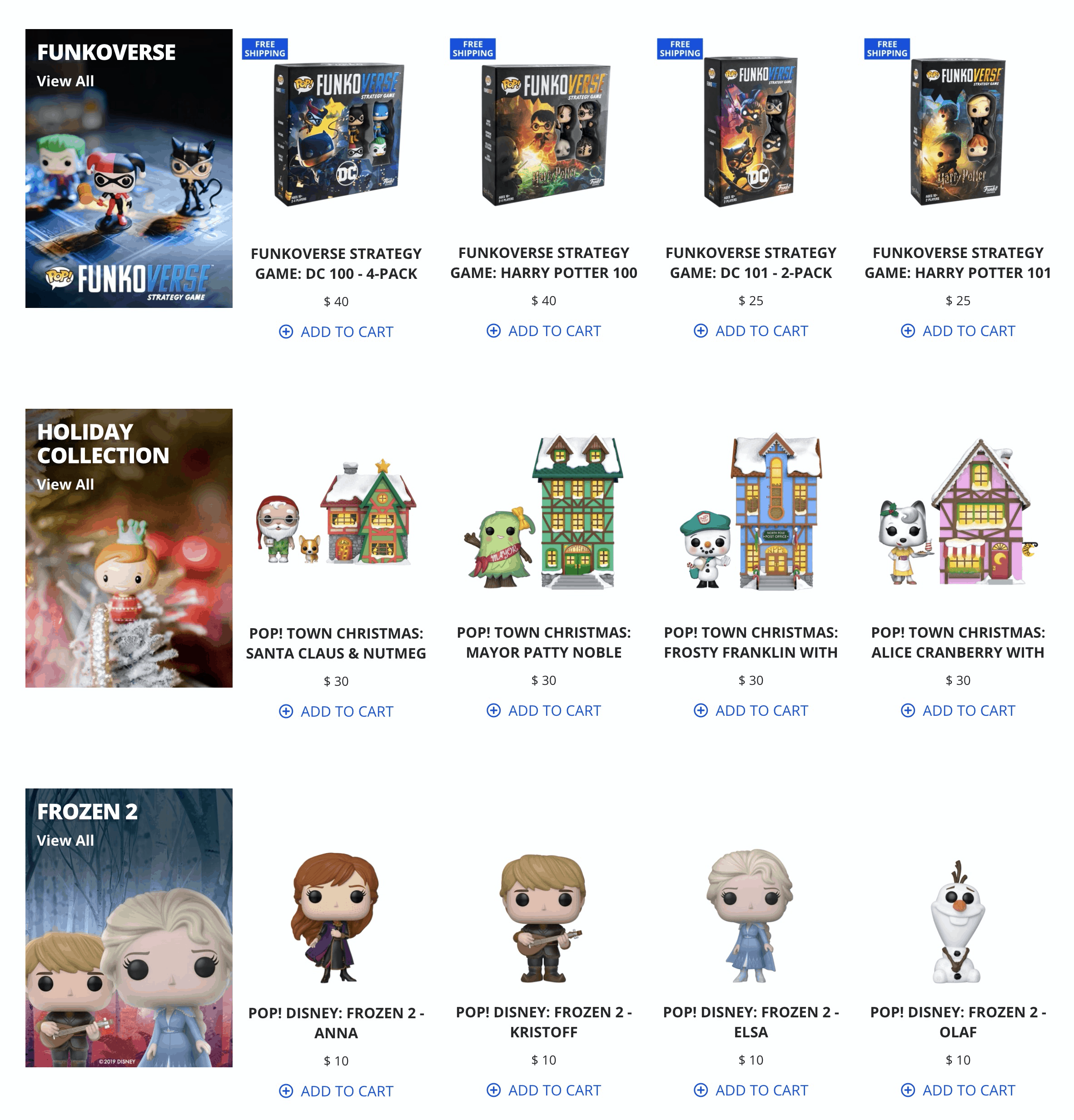 Funko Black Friday 2019 Coupon: Get 20% Off Sitewide + Free Shipping On $50+ Purchase!