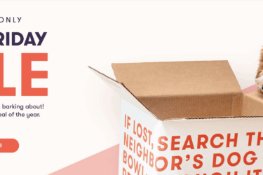 Ollie Dog Black Friday Deal: Get 25% Off First Three Boxes – up to $200 Off!
