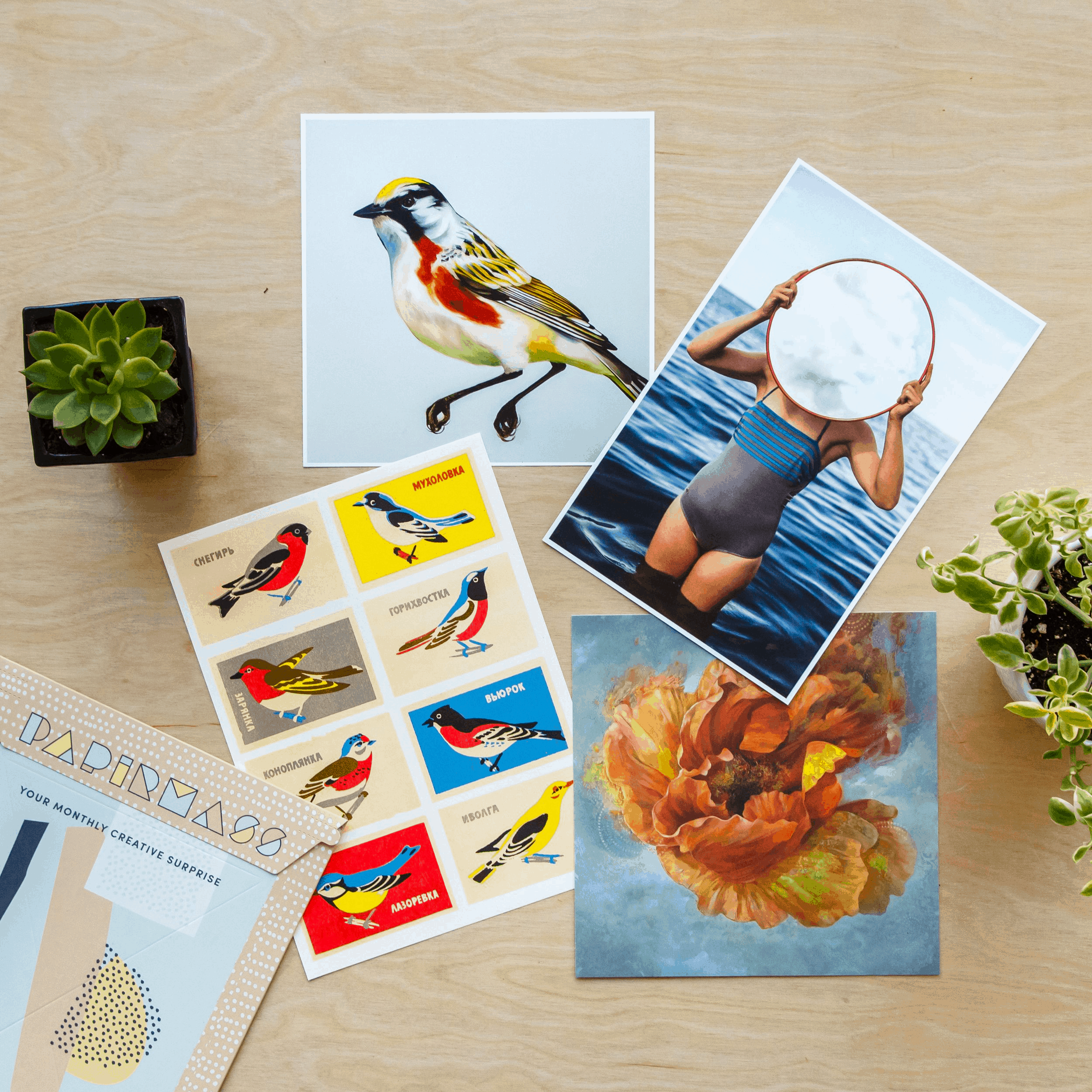 Papirmass Art Subscription Mother's Day Deal: Save 20%!