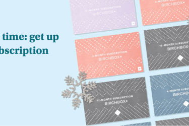 Birchbox Grooming Before Black Friday Sale: Subscription Gift Cards 30% Off!