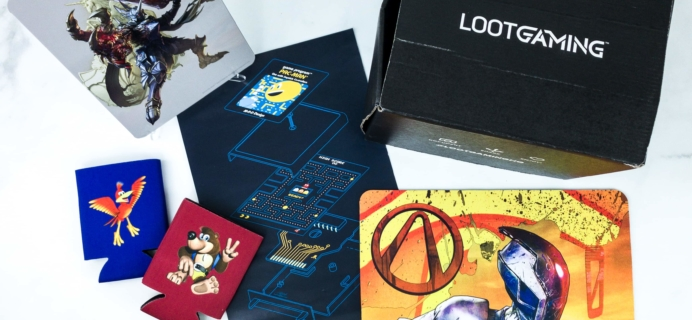 Loot Gaming August 2019 Subscription Box Review & Coupon – BUTTON SMASH!