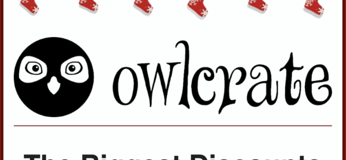 OwlCrate Black Friday 2019 Coupons: Save Up To $27 on Subscriptions!