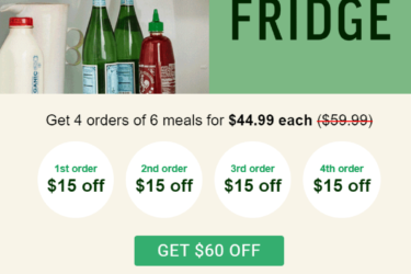 Freshly Black Friday Deal: Save $60 On First 4 Orders!