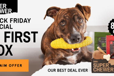 Super Chewer Black Friday Coupon: First Box $5!