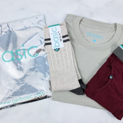 Basic MAN Subscription Box November 2019 Review + 50% Off Coupon