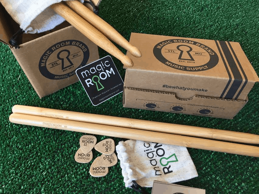 Magic Room Brand Music Supply Black Friday Deal: Save 25% on eco-friendly drumsticks and guitar picks!