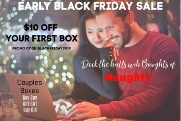 Seductive Pleasure Black Friday & Cyber Monday Deal: Get an extra surprise with your first box! {NSFW}